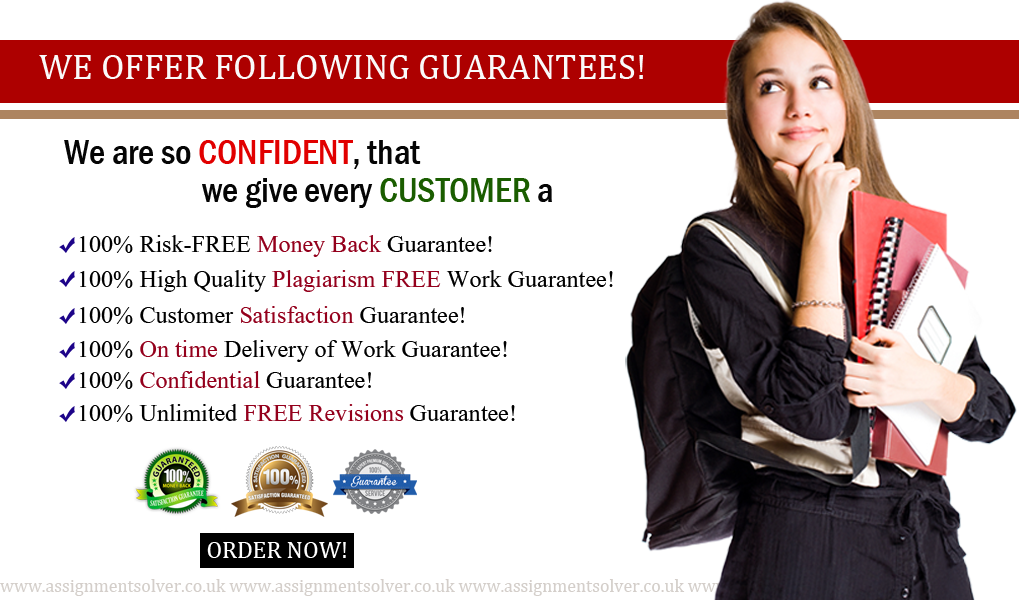 Assignment Writing Services - Guarantees