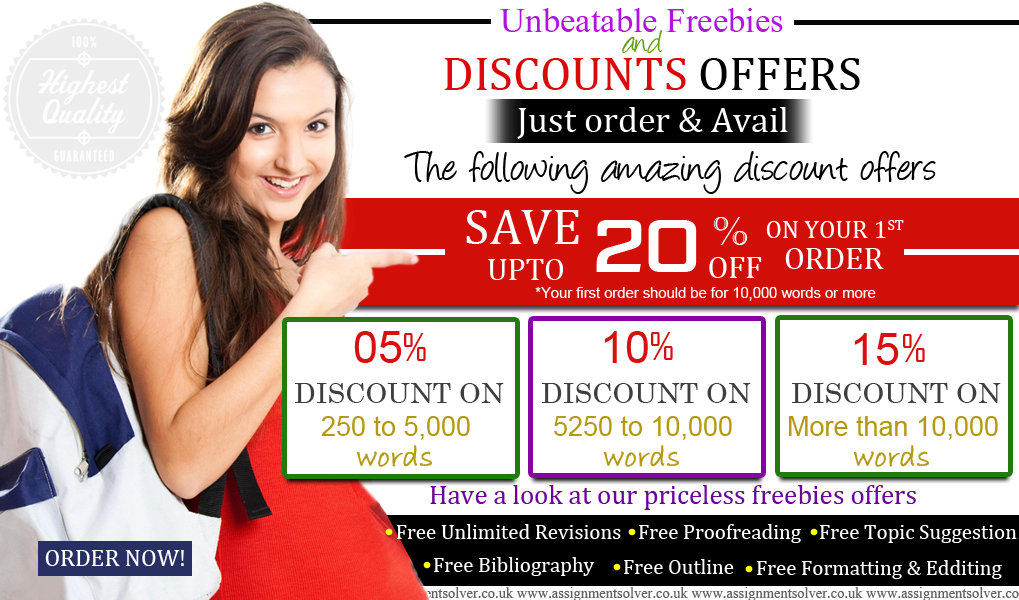 Assignment Writing Service UK - Discounts and Freebies